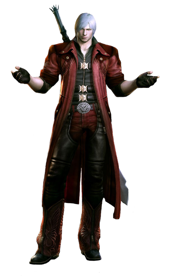 ...y de Dante... antes de que Team Ninja lo violara en la boca