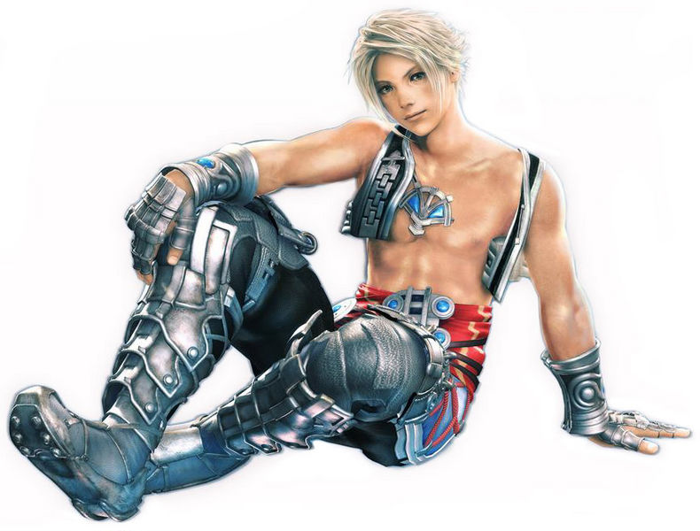 """El personaje principal de FFXII también conocido como el póster central de la revista """"boyz 2 Men"""""""